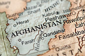 istock A map with a close-up focus on Afghanistan 96203041