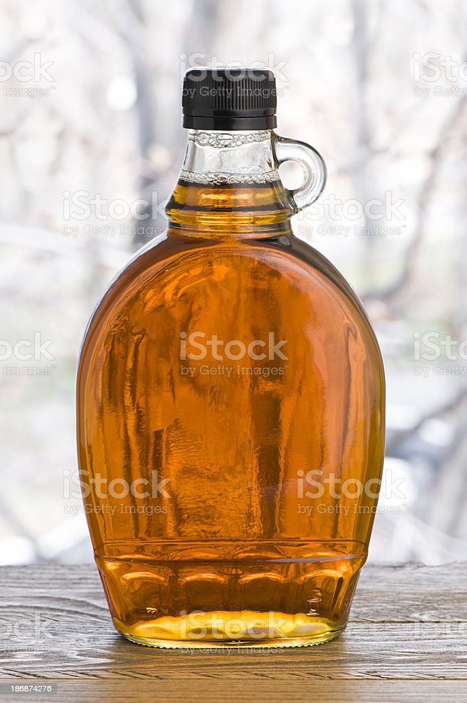 Maple syrup stock photo