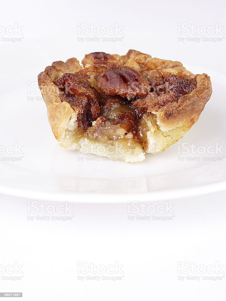 Maple tart royalty-free stock photo