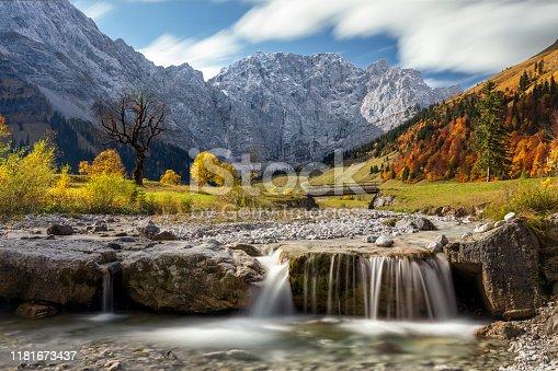 Autumn, Alps, Woodland, Season