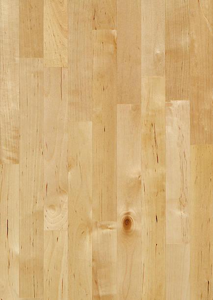 Ahornholz butcher block-Hintergrund – Foto