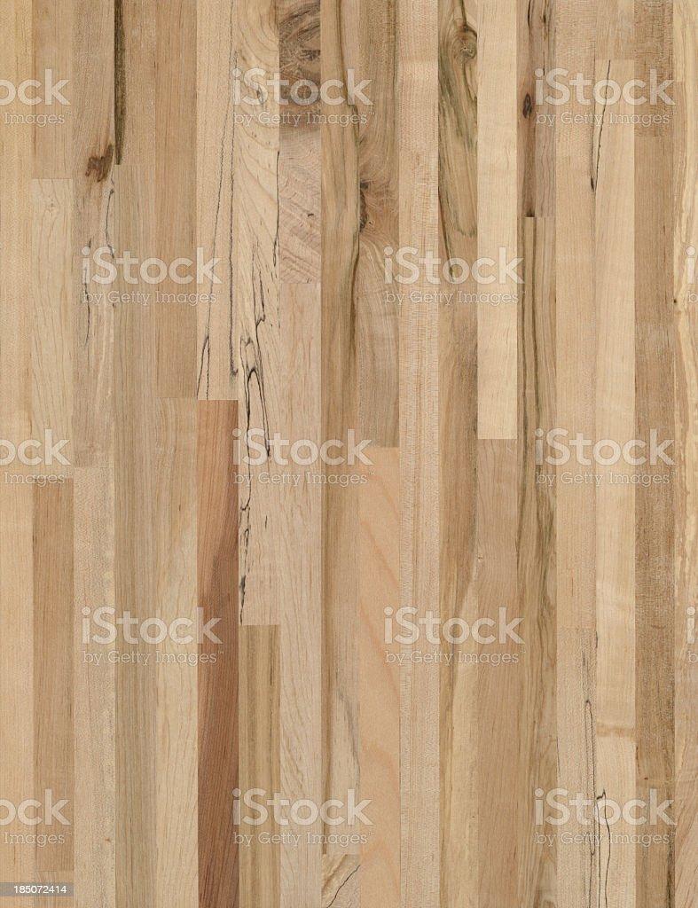 Maple wood grain butcher block background royalty-free stock photo