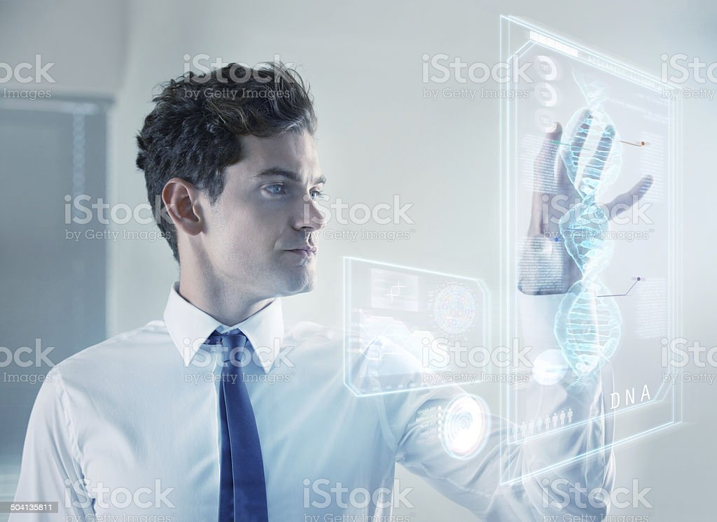 Mapping ourselves stock photo