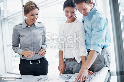 466848706 istock photo Mapping out their future 522925253