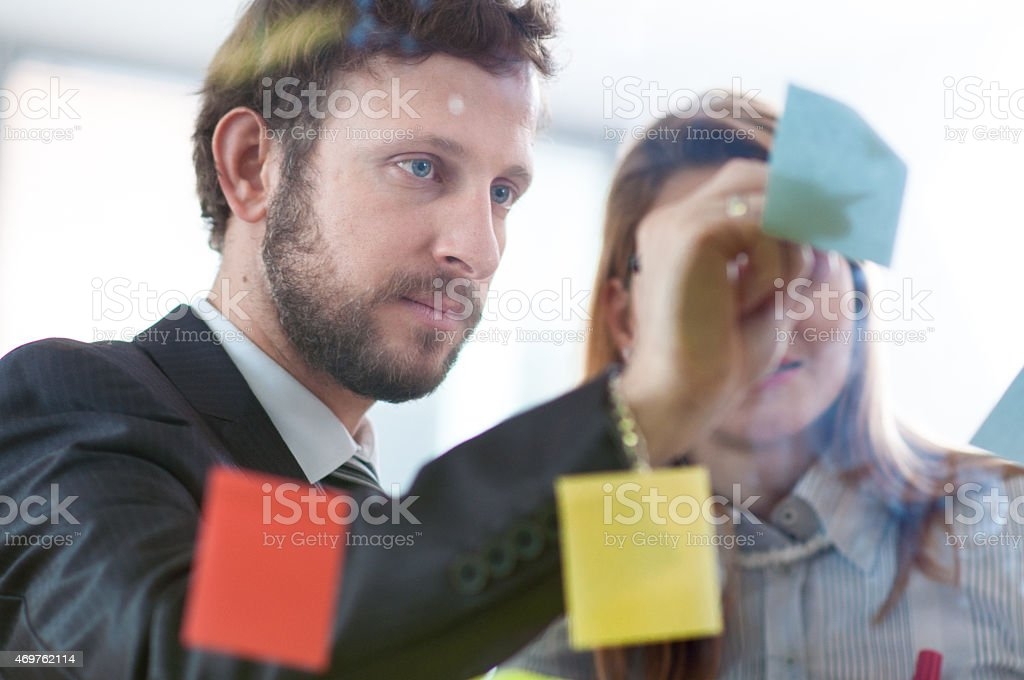 Mapping the Ideas stock photo