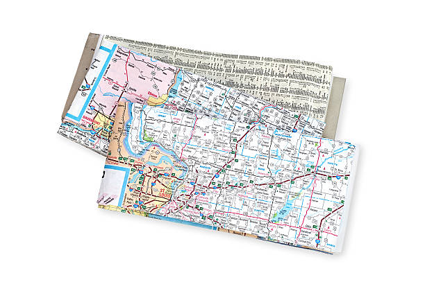 maps - road map stock photos and pictures