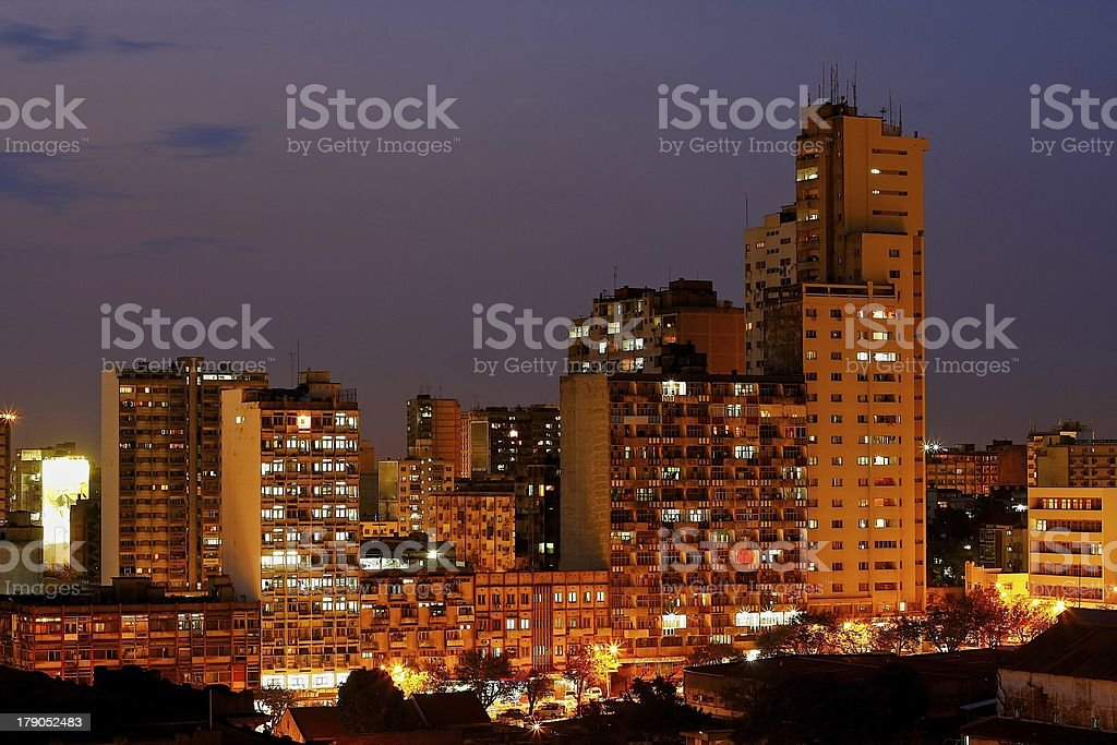 Maputo building royalty-free stock photo