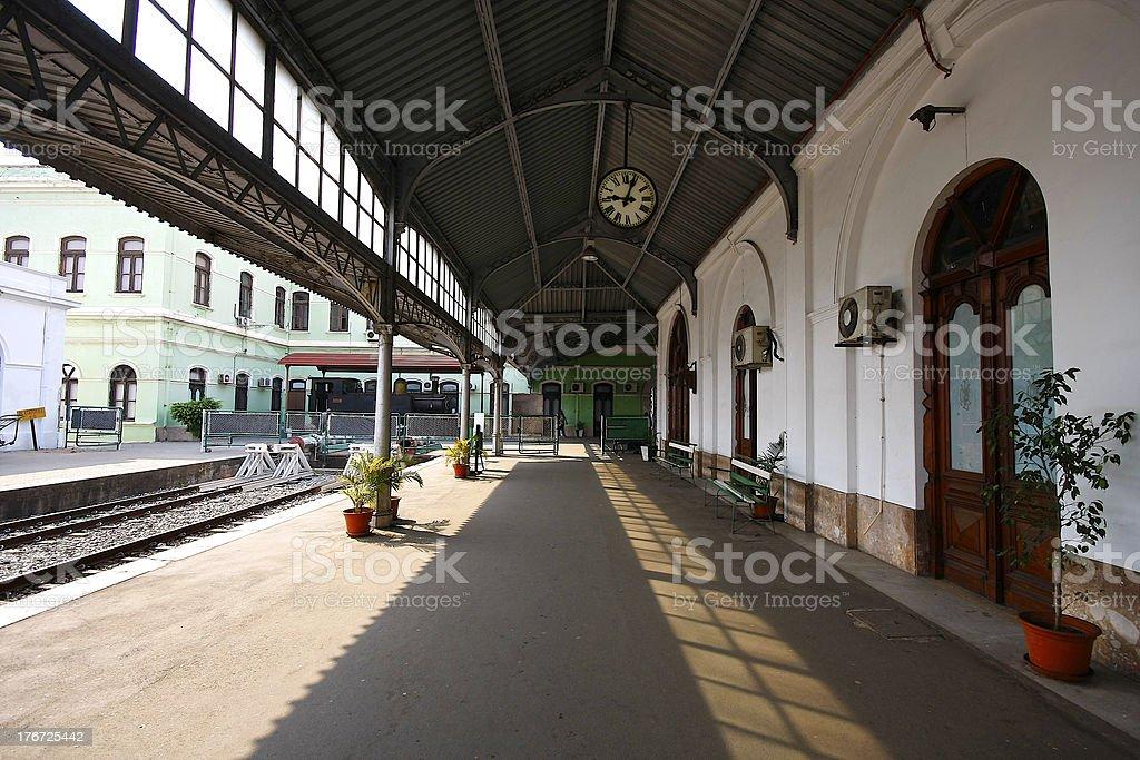 Maputo train station royalty-free stock photo