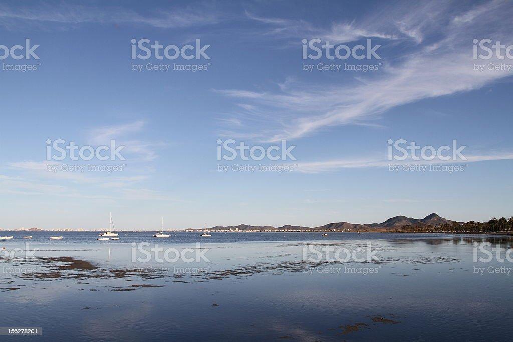 Mar Menor royalty-free stock photo