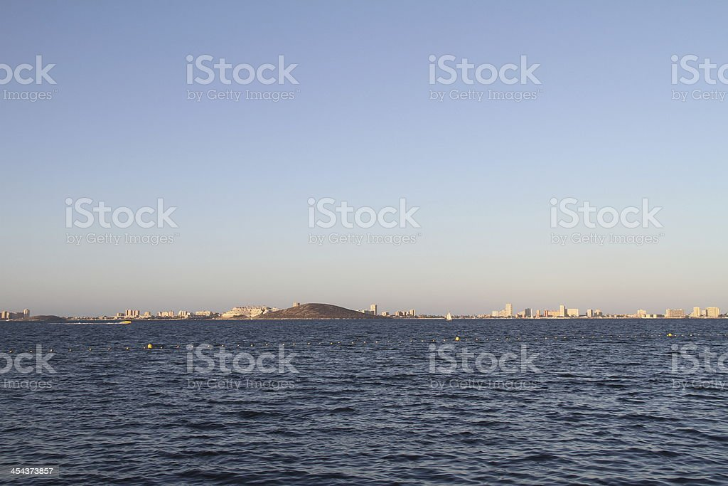 Mar Menor royalty-free stock photo