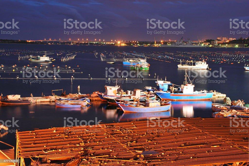 Mar Piccolo stock photo