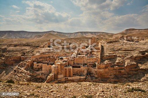 Mar Saba monastery at the desert (Israel)