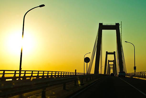 maracaibo puente - maracaibo fotografías e imágenes de stock