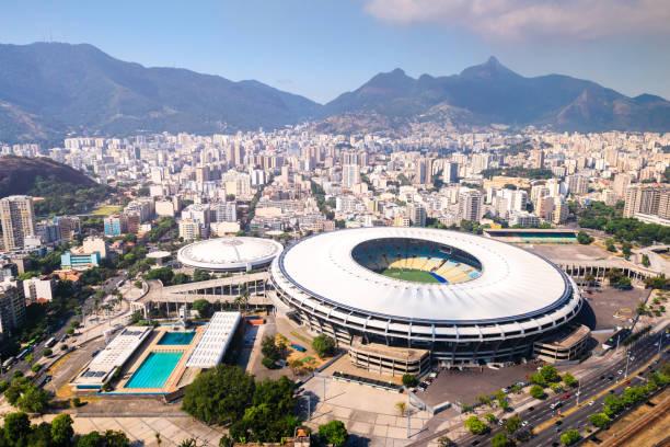 maracana stadion - sportkampioenschap stockfoto's en -beelden