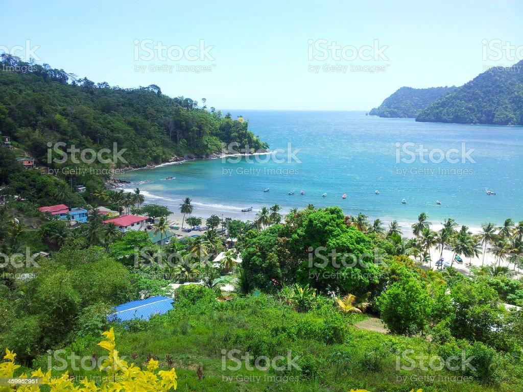 Maracas boat parking - Royalty-free Beach Stock Photo