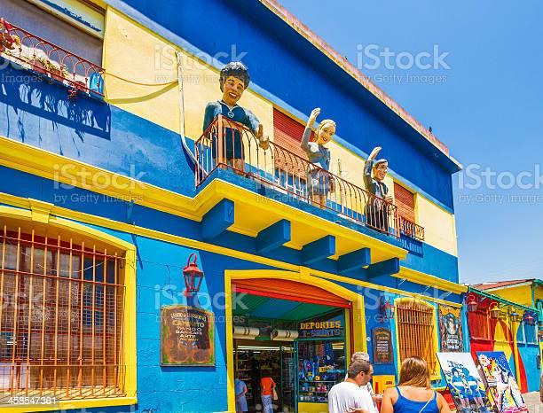 Foto de Maradona Evita E Gardel Em La Boca Buenos Aires Argentina e mais fotos de stock de Adulto