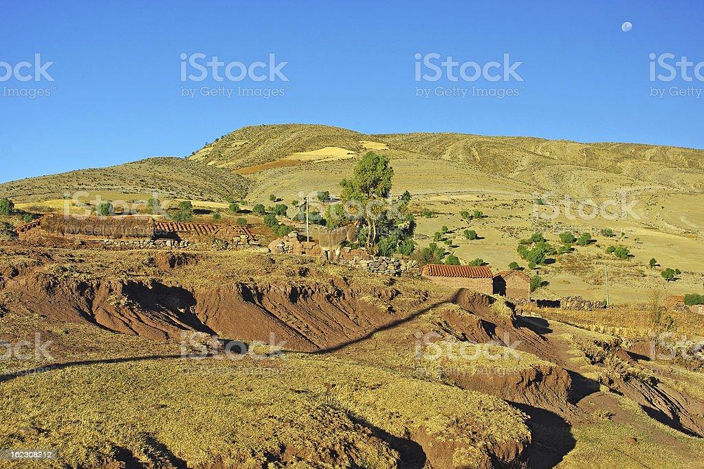 Maragua crater stock photo