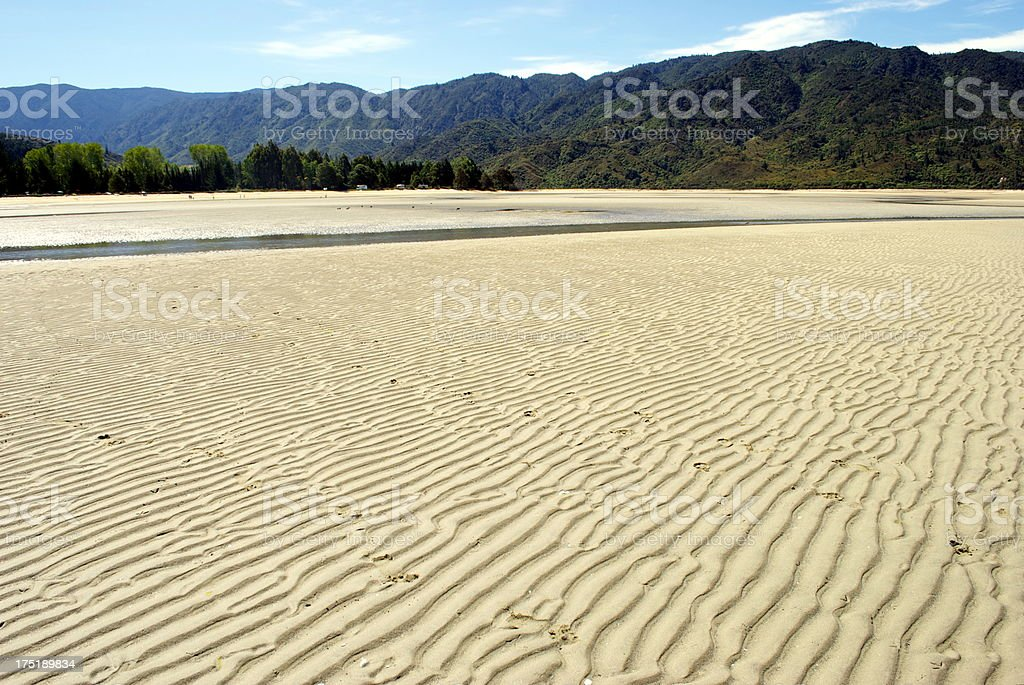 Marahau Beach, The Abel Tasman National Park, NZ stock photo