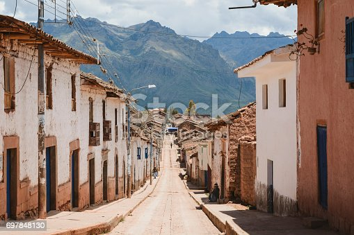 istock Maras city in the Sacred Valley of Peru. 697848130