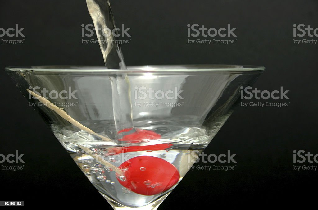 Maraschino Martini royalty-free stock photo