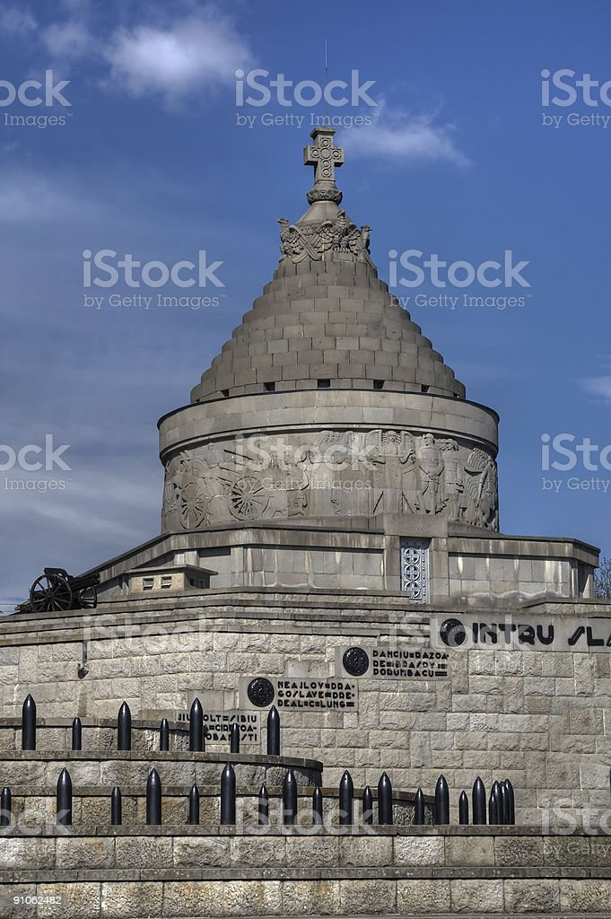 Marasesti Mausoleum royalty-free stock photo