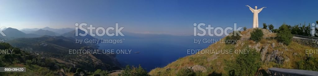 Maratea - Panoramica dal Monte di San Biagio - foto stock