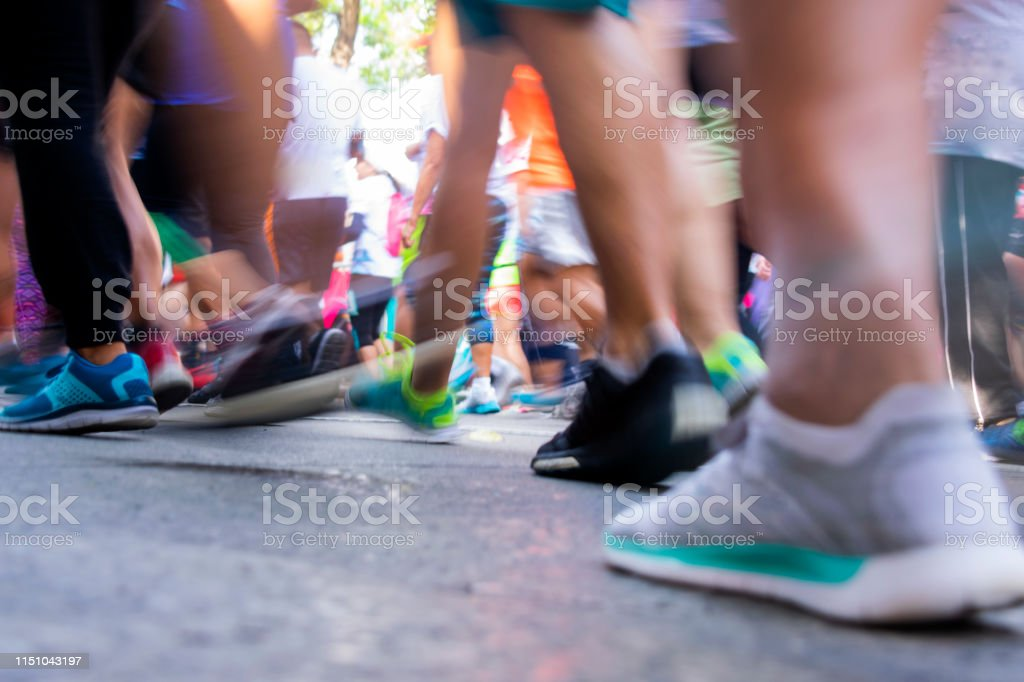 Marathon detail legs, movement in latin america, latina people....