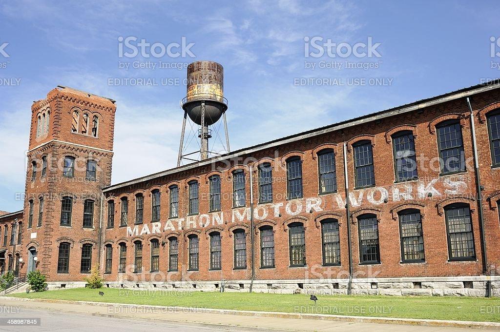 Marathon Motor Works Redevelopment in Nashville stock photo