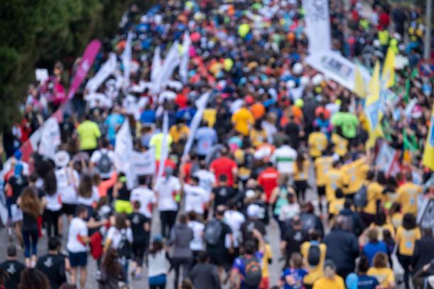 Marathon of blurred Runtalya Marathon of blurred 40 kilometre stock pictures, royalty-free photos & images