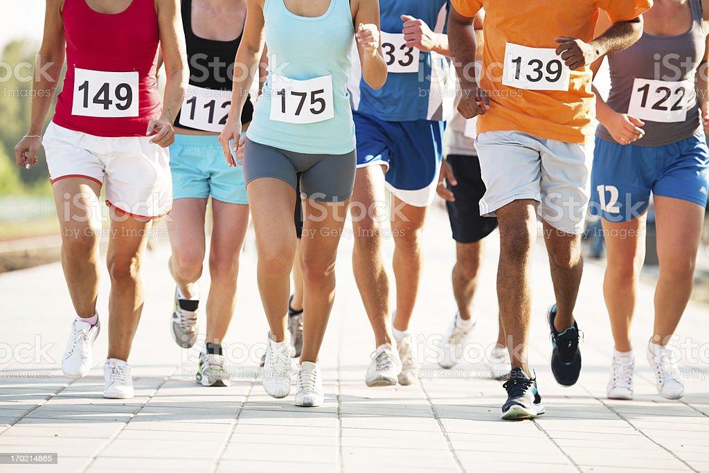 Maratona. - foto de acervo