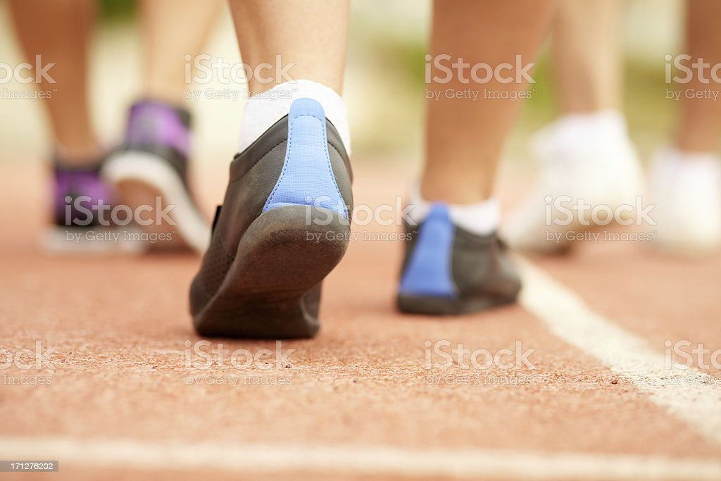 Marathon royalty-free stock photo