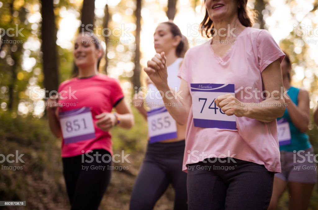 Maratona na natureza! - foto de acervo