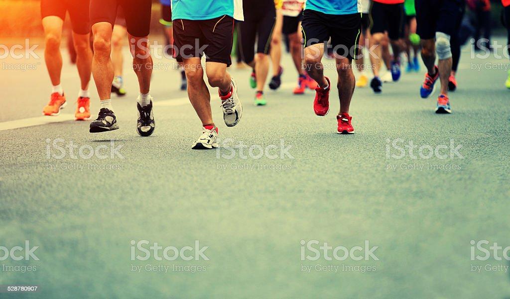 marathon-Läufer Beine – Foto