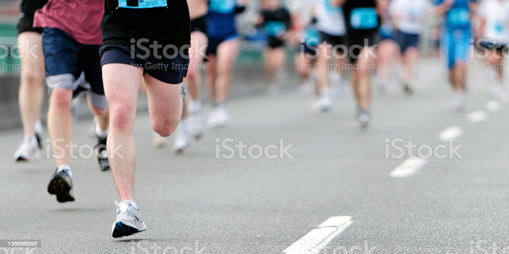 marathon-Läufer – Foto