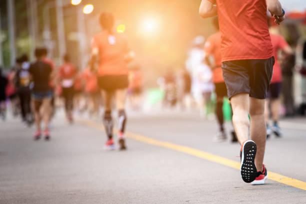 Marathon laufen. – Foto