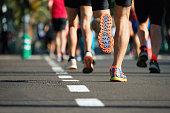 マラソン走るレース