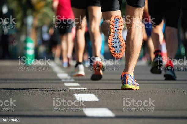 Marathon Laufen Rennen Stockfoto und mehr Bilder von Aktiver Lebensstil