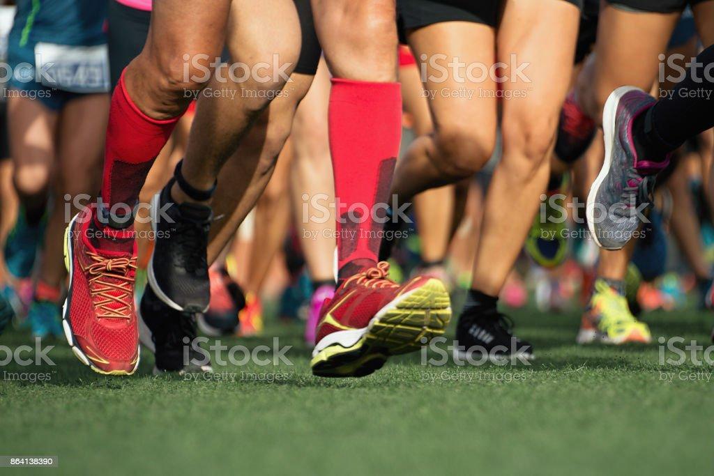 Marathon laufen Rennen – Foto