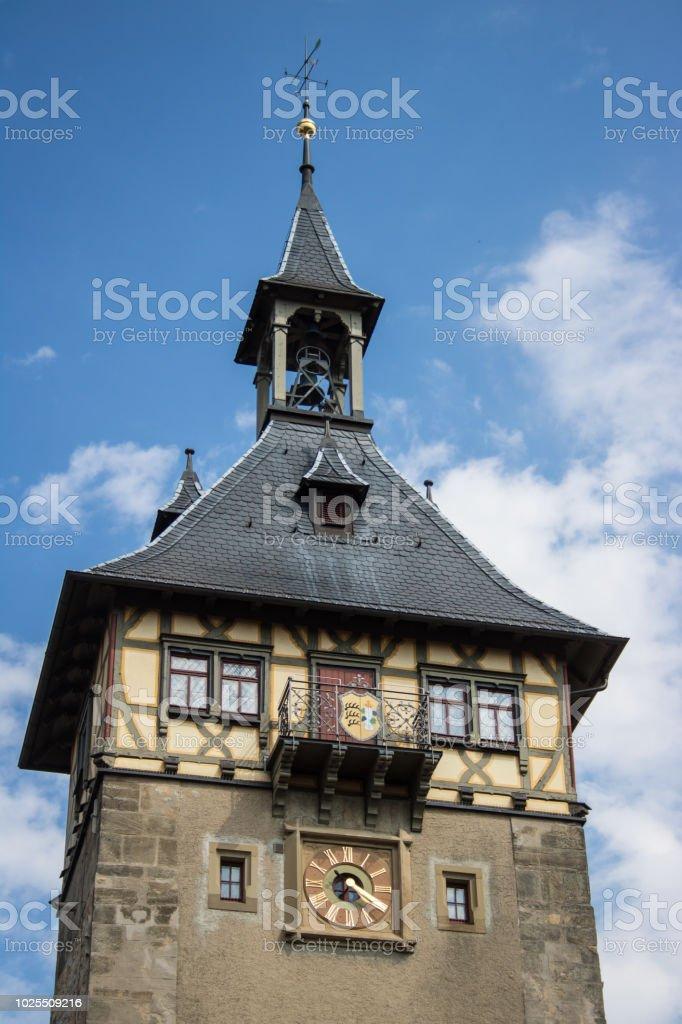 Marbach in Deutschland stock photo