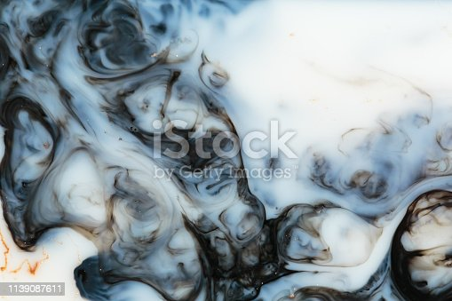 985119446istockphoto Marble abstract acrylic background. Blue marbling artwork texture. Agate ripple pattern. Gold powder. 1139087611