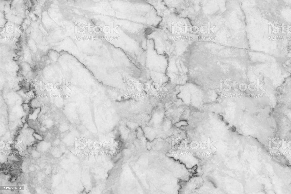 Marmeren abstracte natuurlijke marmeren zwart en wit (grijs) voor ontwerp. Marmeren textuur achtergrond vloer steen interieur decoratiegesteente - Royalty-free Abstract Stockfoto