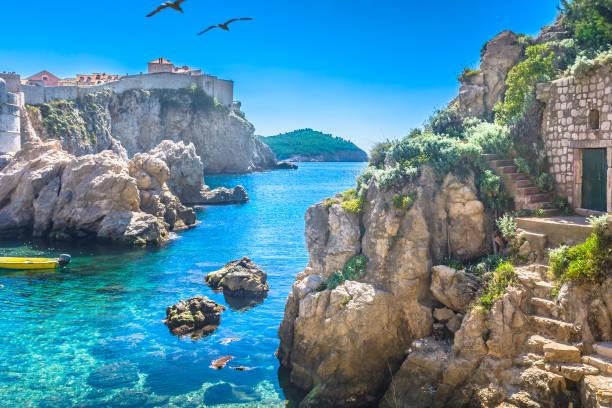 Aus Marmor Adria Bucht Dubrovnik. – Foto