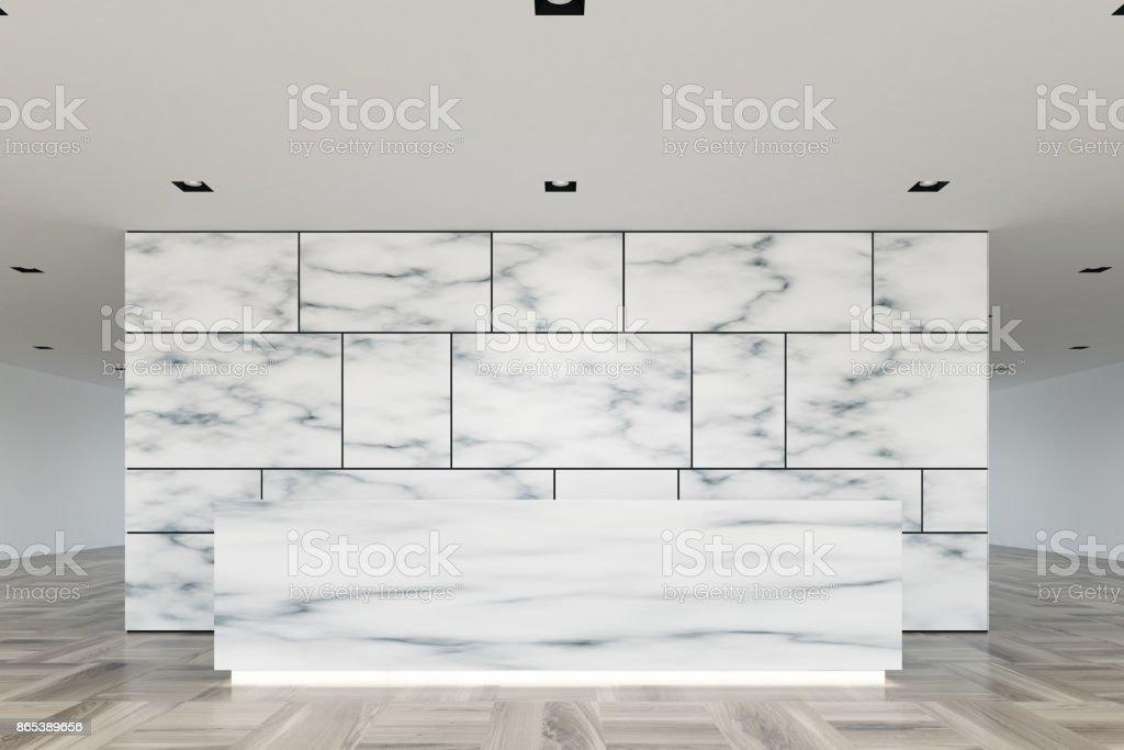 Marmor Und Glas Rezeption Lobby Closeup Stockfoto und mehr Bilder ...