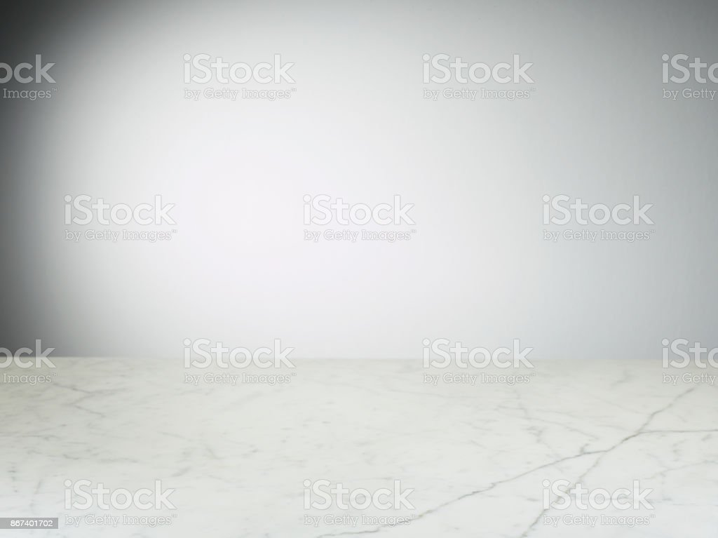 Marble Background with Empty Wall stock photo