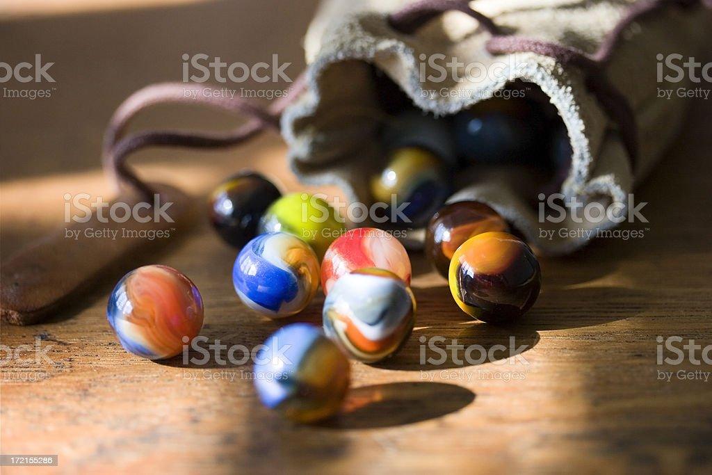 Marble Bag royalty-free stock photo