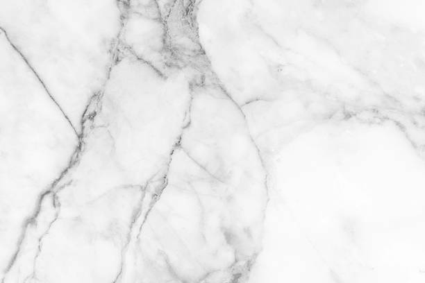 marble black and white (gray) white marble texture background. - foto stock