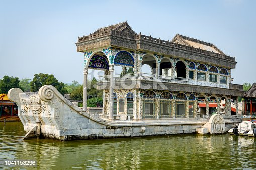 Marble Boat in Summer Palace, Beijing