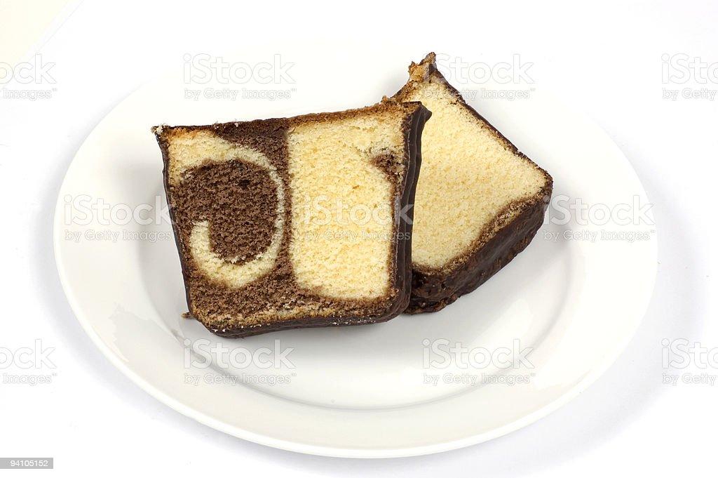 Marble Cake royalty-free stock photo