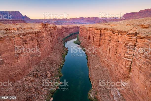 Photo of Marble Canyon and Colorado River in Arizona USA