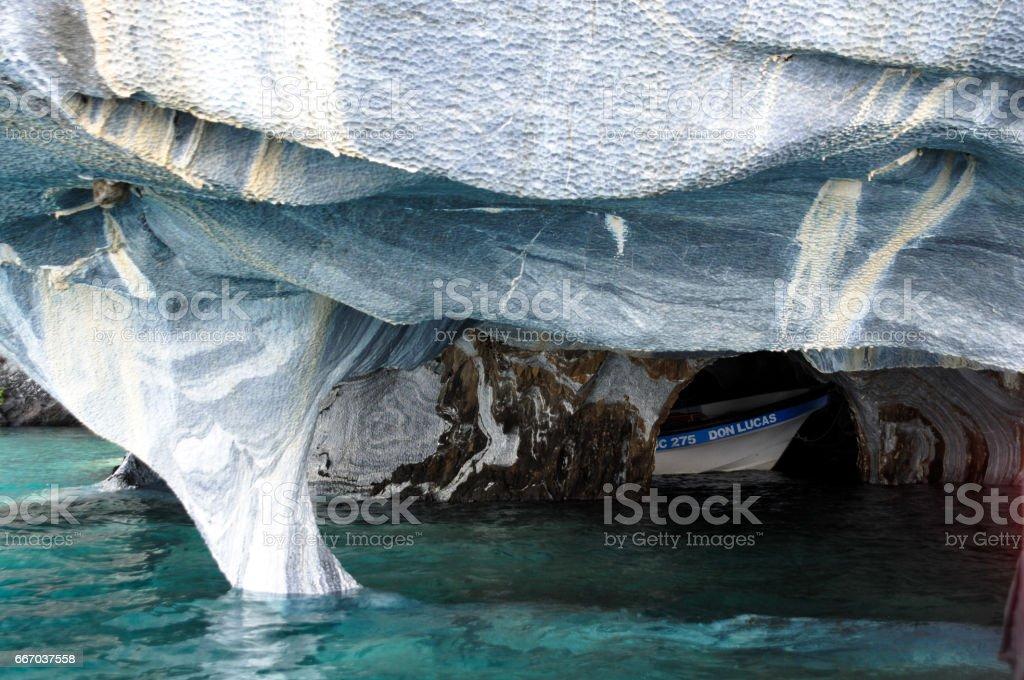 Marmor-Höhlen von See General Carrera – Foto